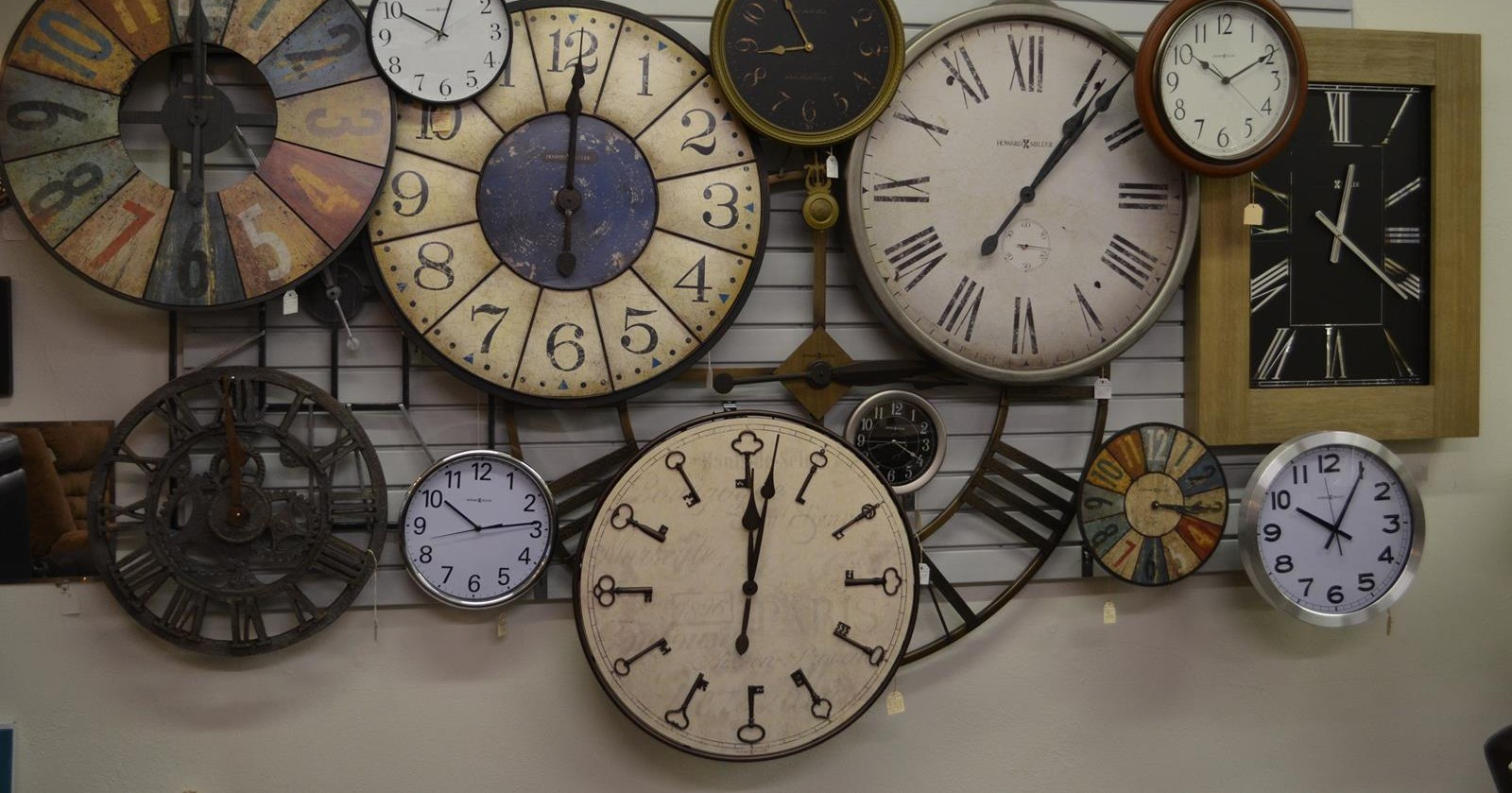 Howard Miller Clocks available at Leifeld's